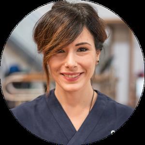 Carla Sforza terapista presso sport clinic center