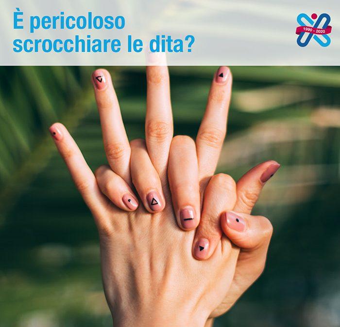scrocchiare le dita è pericolos?