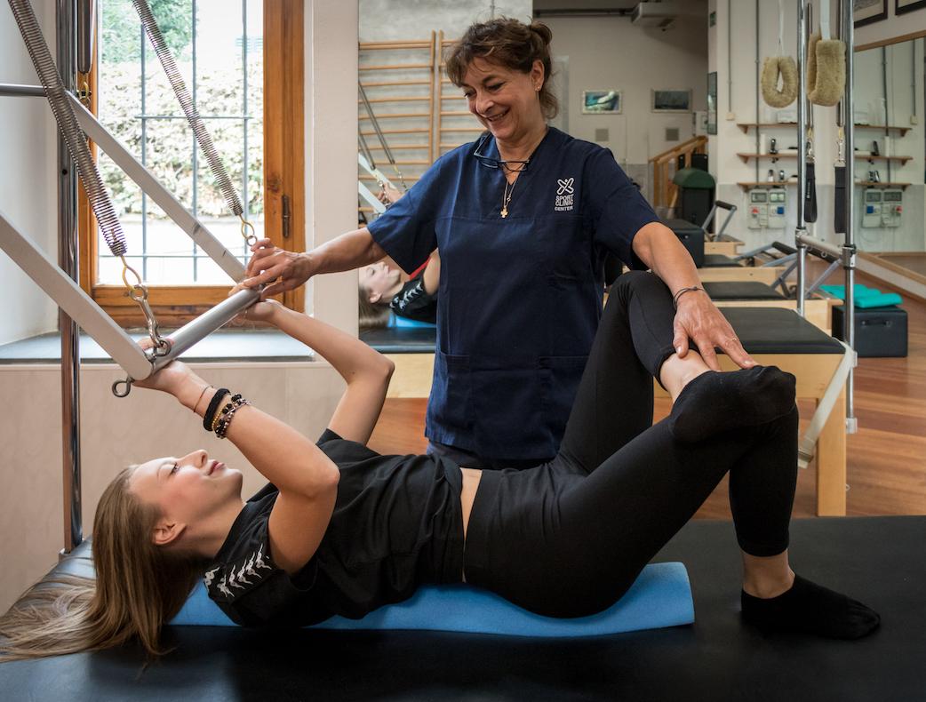 pilates con macchinari presso Sport Clinic Center
