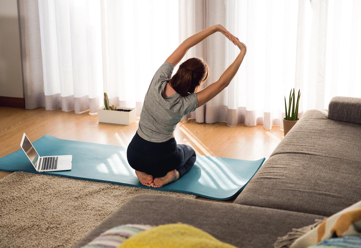 allenamento in casa per mantenere i progressi fatti nel percorso fisioterapico