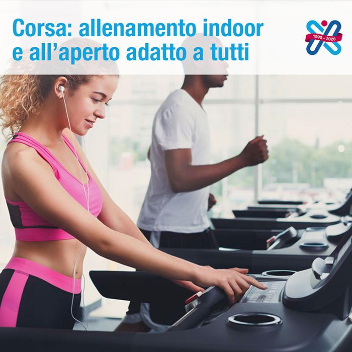 allenamento indoor: le caratteristiche