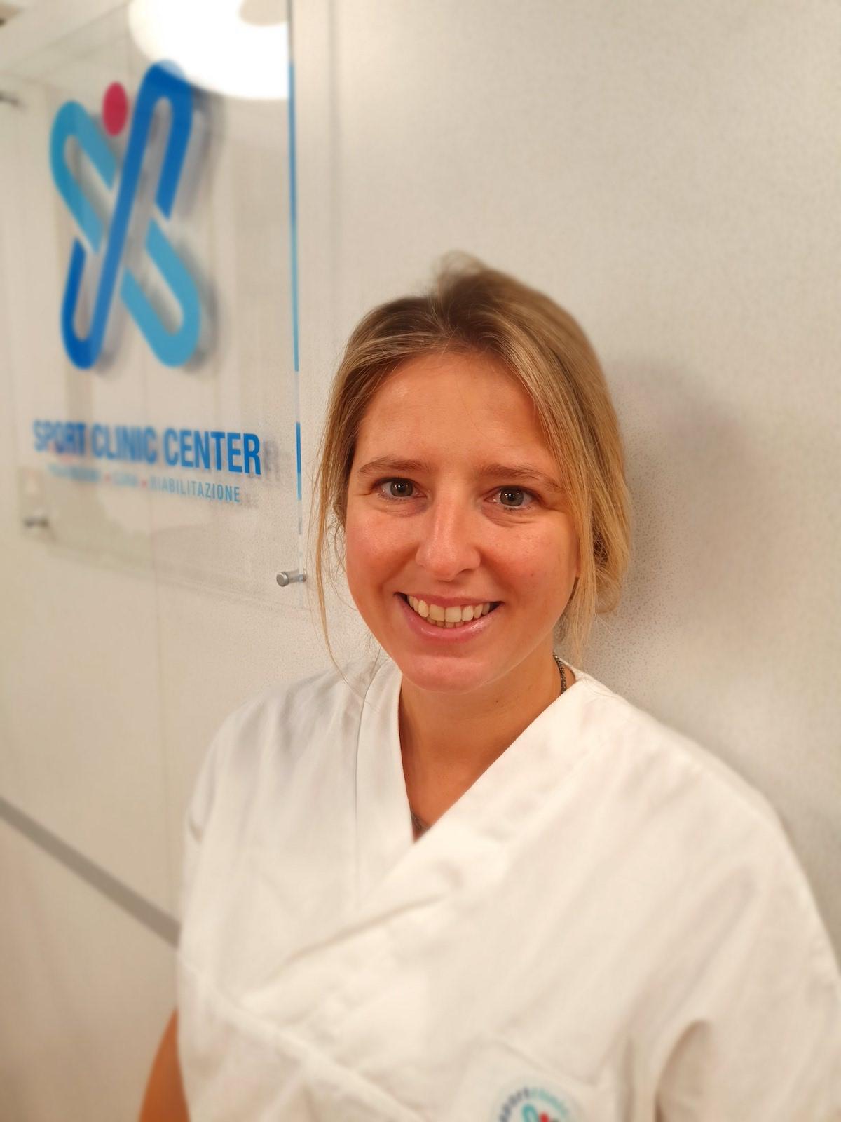 dottoressa Martina Morris presso Sport Clinic Center