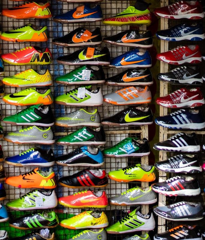 la scelta delle scarpe running