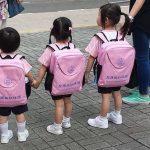 salute dei bambini zaini